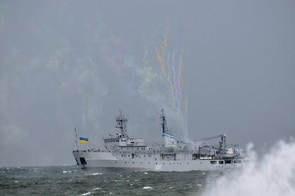 ВМС Украины раскрыли подробности аварии с военным кораблем в Черном море