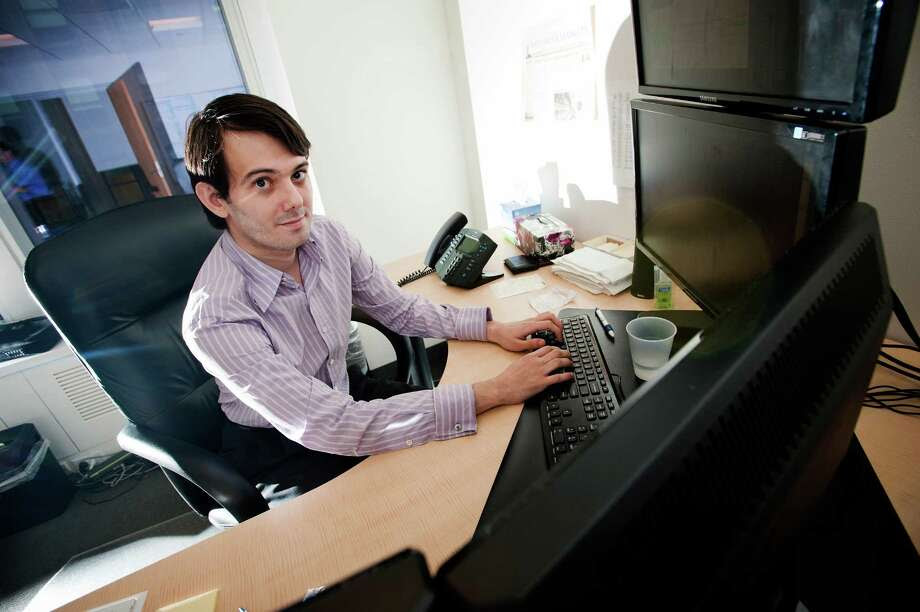 Martin Shkreli, Turing Pharm aceuticals chief executive, cast himself as a Good Samaritan in lowering the drug's price. Photo: Paul Taggart / Paul Taggart / Bloomberg 2011 / © 2011 Bloomberg Finance LP