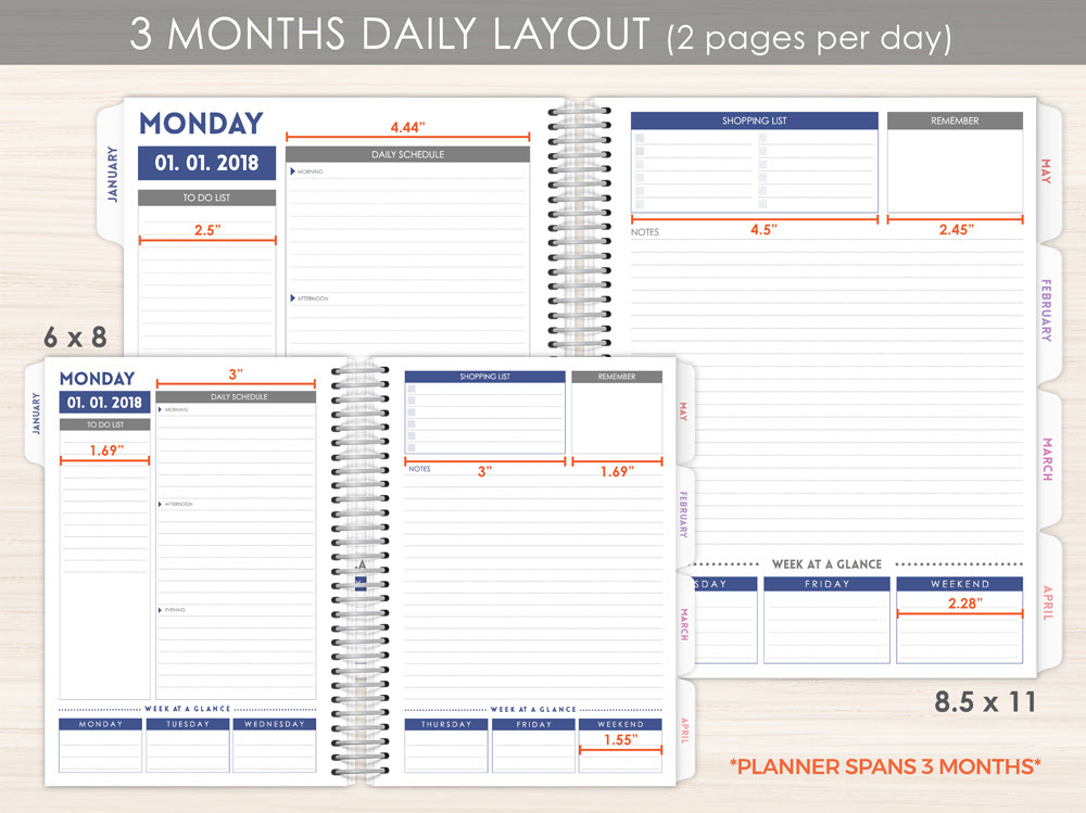 Personalized Planners, Custom Planners & Custom 2017 Planners