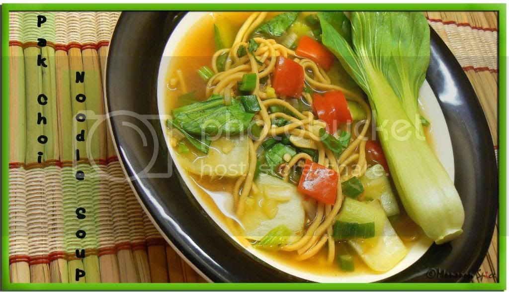 monsoon spice unveil the magic of spices soup for the soul pak choy noodles soup. Black Bedroom Furniture Sets. Home Design Ideas
