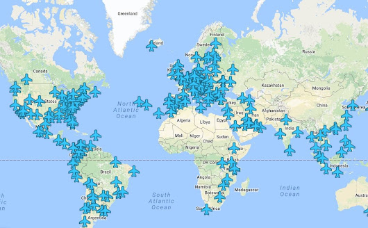 Mapped: Wireless passwords from airports and lounges around the world