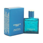 Versace Eros For Men EDT Spray By Versace, 0.17 Oz Mini