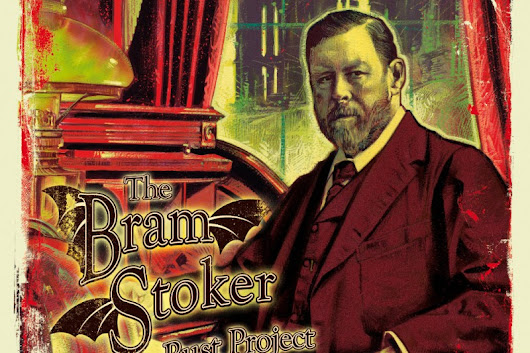Click here to support Bram Stoker Bronze Bust Project by Bryan Moore
