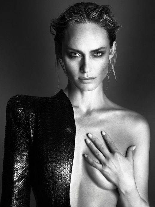 LE FASHION BLOG SUPERMODEL INTERVIEW MAGAZINE AMBER VALLETTA WET SLICKED BACK TOUSLED HAIR SEXY NUDE NAILS MANICURE PYTHON LEATHER JACKET BLAZER STRUCTURED STATEMENT SHOULDERS BLACK WHITE PORTRAIT Mert Alas & Marcus Piggott 5 photo LEFASHIONBLOGSUPERMODELINTERVIEWMAGAZINEAMBERVALLETTA5.jpg