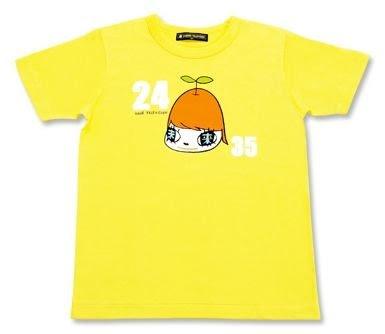 24時間テレビ チャリティーTシャツ 黄色 Lサイズ