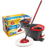 O' Cedar 148473 Easywring Spin Mop and Bucket System