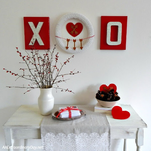 How to Make Stunning Valentine Wall Art with Mailing Boxes