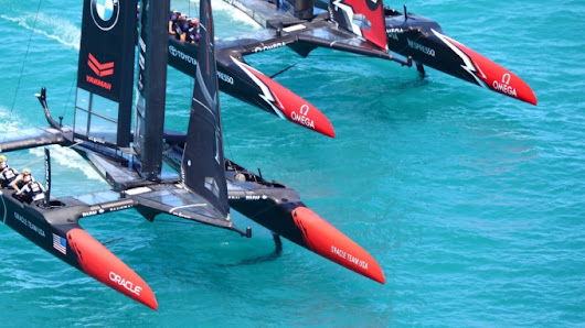 America's Cup Match – Day Four Race Reports