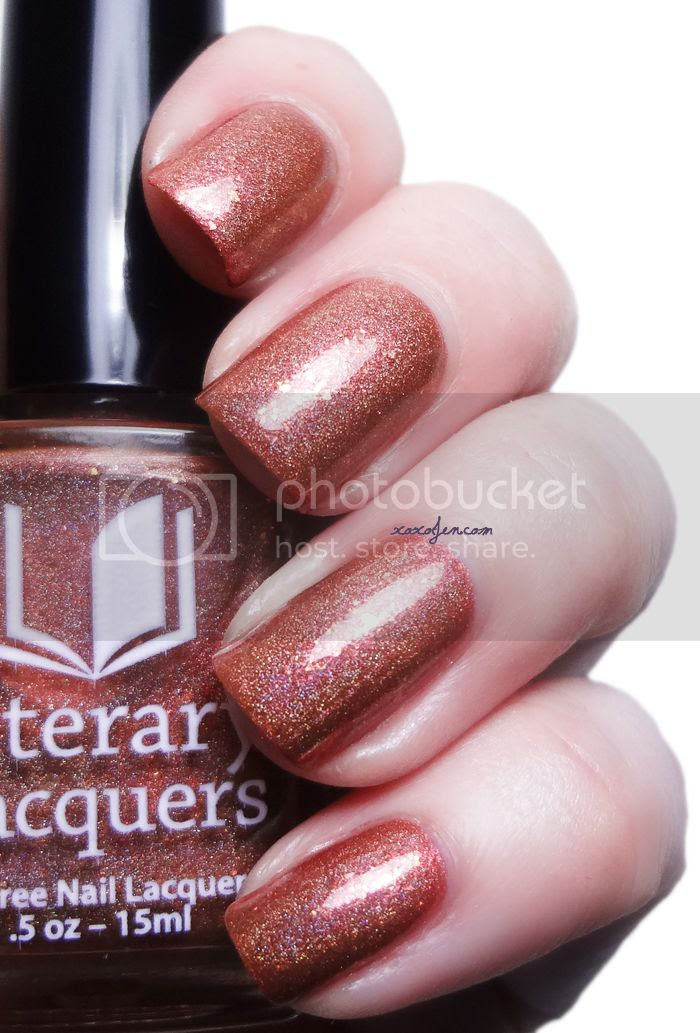 xoxoJen's swatch of Literary Lacquers Porco Rosso
