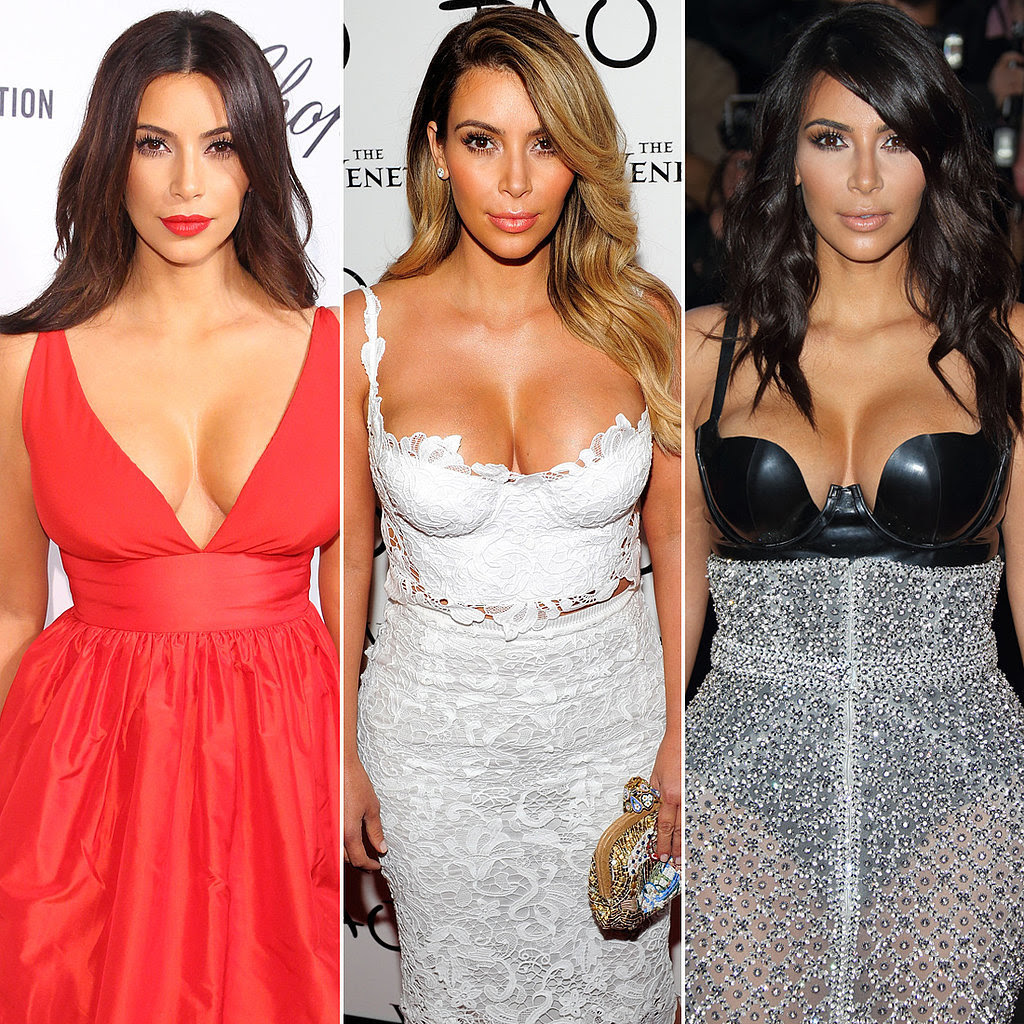 All the Times You Just Couldn't Look Away From Kim Kardashian's Cleavage