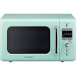Daewoo Retro Kor-7Lrem 700W Countertop Microwave - 0.7 cu ft - Mint Green