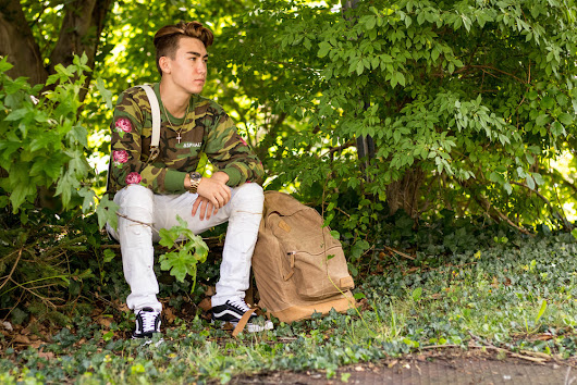 Having Triple the Dedication and Back to School with a Camo Tee