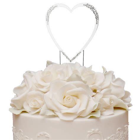 Sparkle ~ Swarovski Crystal Wedding Cake Topper ~ Single