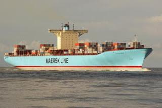 Eleonora Maersk at Rotterdam