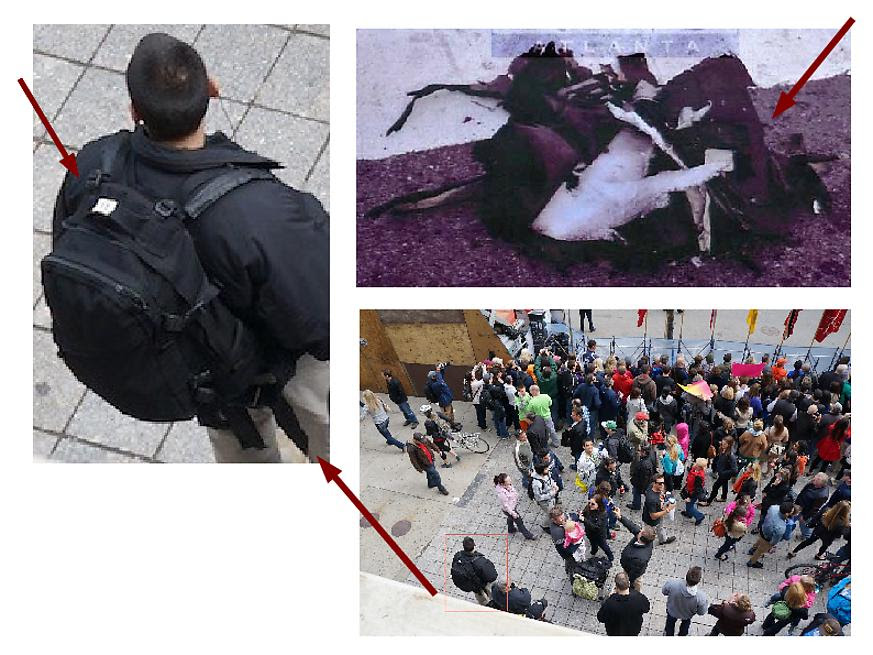 More Photos Show Private Military Security Running Drills at Boston Marathon Bomb Resembles Black Backpack