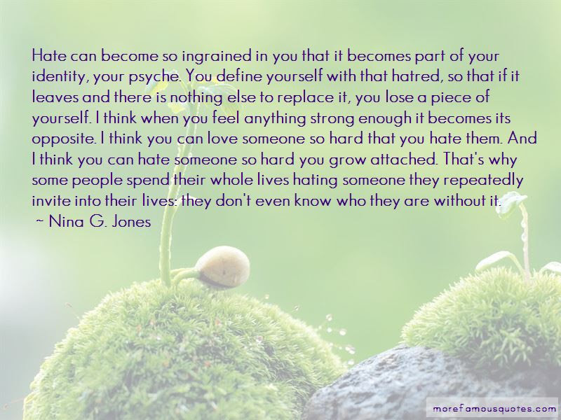 Hating Someone You Love Quotes Top 5 Quotes About Hating Someone