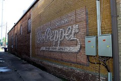 dr. pepper ghost in alley