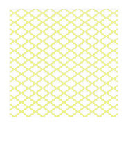 7x7 inch square Chartreuse sketched Moroccan Tile SMALL SCALE