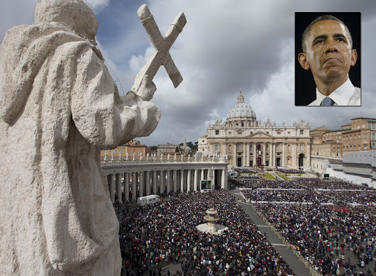 Obama's call to close Vatican embassy is 'slap in the face' to Roman Catholics