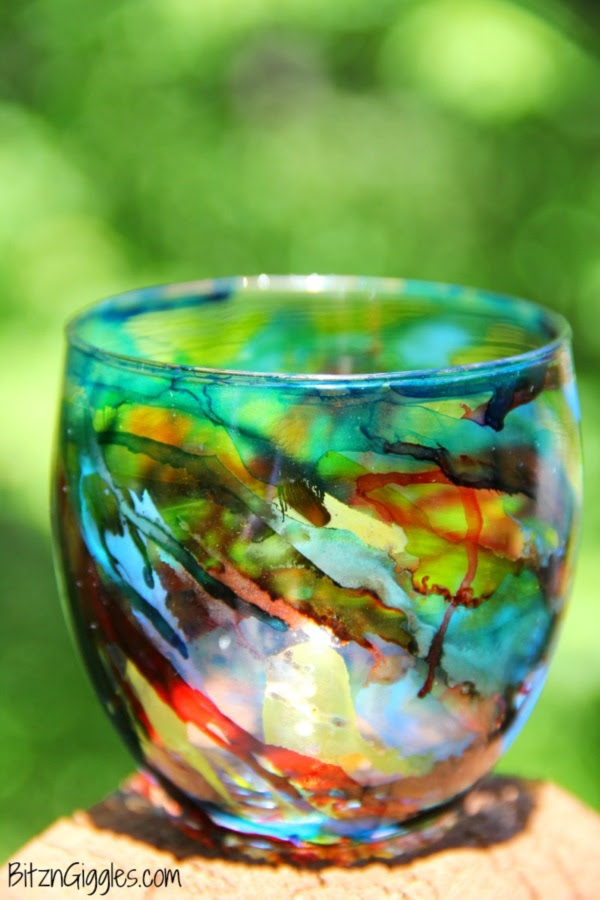 Original Alcohol Ink On Glass Examples23