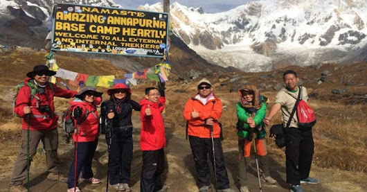 Annapurna Base Camp Trekking is famous trekking trail in Annapurna area.