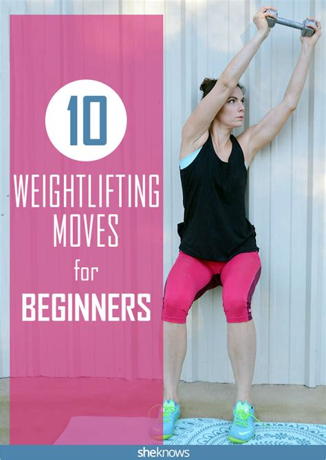 weight lifting exercises  beginners sheknows