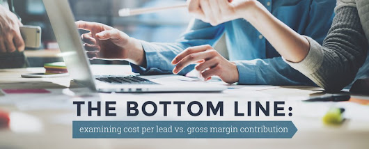 Cost Per Lead vs. Gross Margin Contribution | Oozle Media