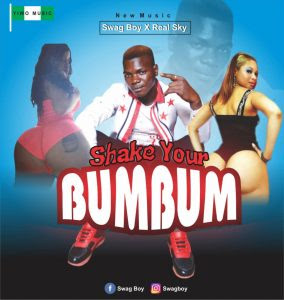 Download Music Mp3:- Swag Boy Ft Real Sky – Shake Your BumBum