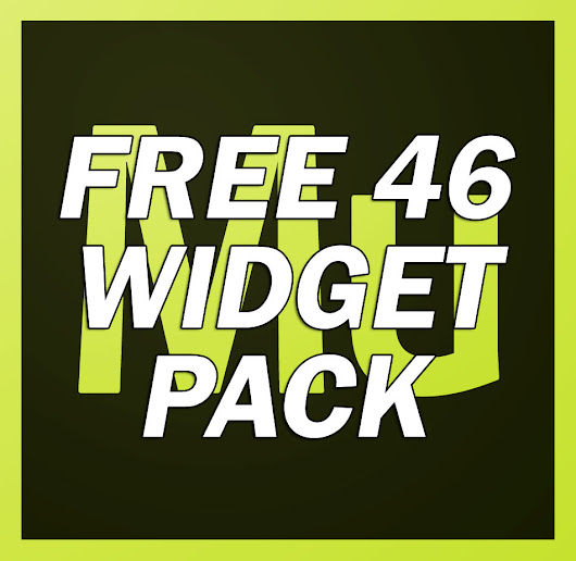 Free 46 widget PACK for Adobe Muse - Responsive Muse - Templates & Widgets