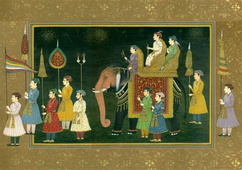 The Wedding Procession of a Mughal Prince