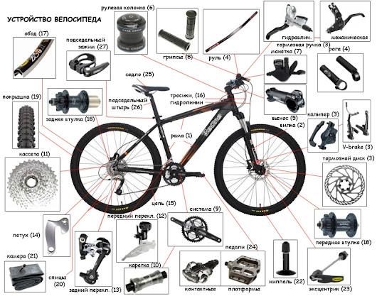 устройство и ремонт велосипеда отсутствия движения