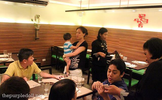 Nav Modern Thai Cuisine Dining Area