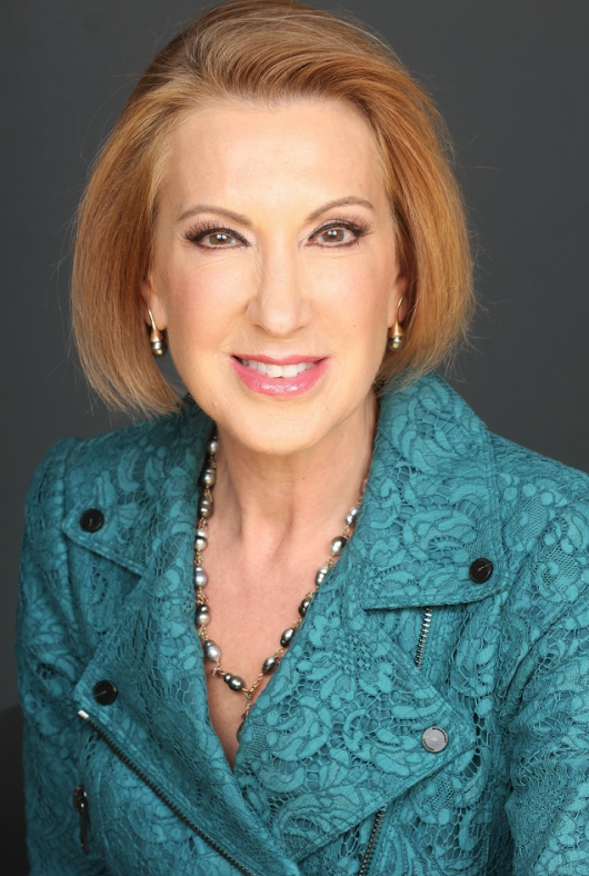Carly Fiorina is rock solid! - Holly Richardson