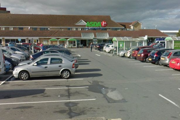 Asda superstore in Holles Street, Grimsby
