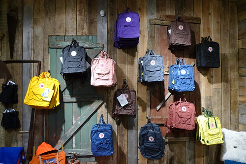 so many hipster backpacks, you guys