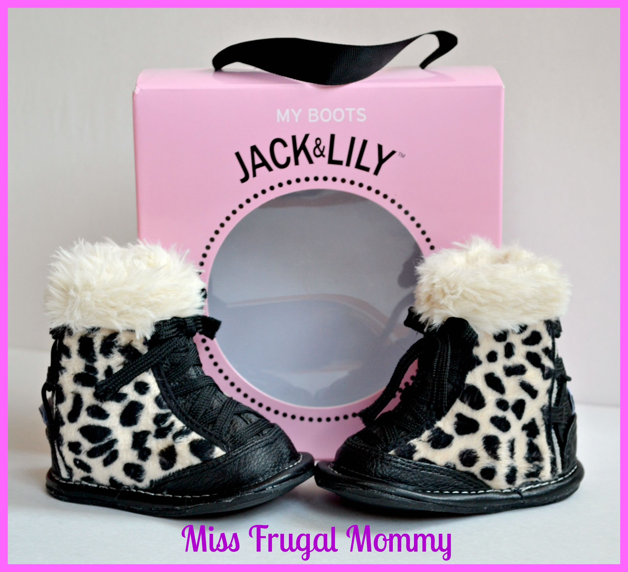 Jack & Lily: Leopard Laced Boots Review (Getting Ready For Baby Gift Guide)
