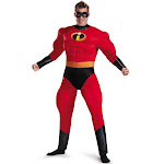 Incredibles 2 Mr. Incredible Classic Muscle Adult Costume - 67386 - Red - 50-52