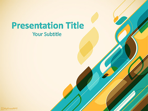 35 Best Of Free Powerpoint Templates Abstract Design Summer Background