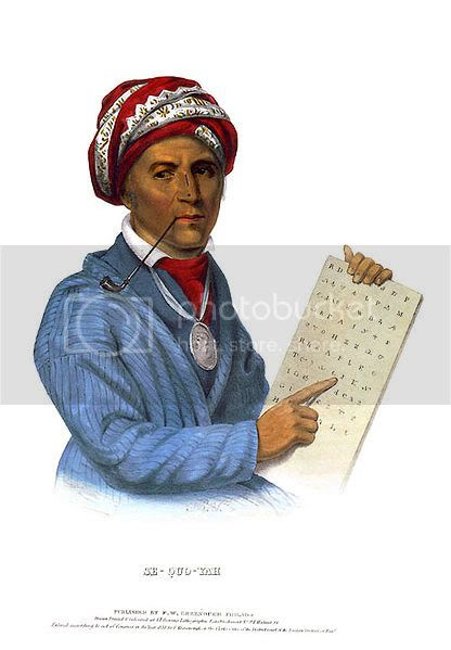 inventor of the Cherokee written language
