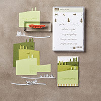 Jingle All the Way Clear-Mount Bundle by Stampin' Up!