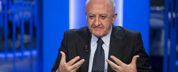 Vincenzo De Luca di nuovo sotto inchiesta. Avviso chiusura indagini per falso in atto pubblico