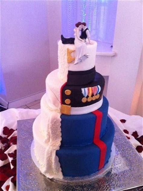 25  best ideas about Marine Wedding Cakes on Pinterest