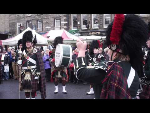 How do you like the sound of some bagpipes?