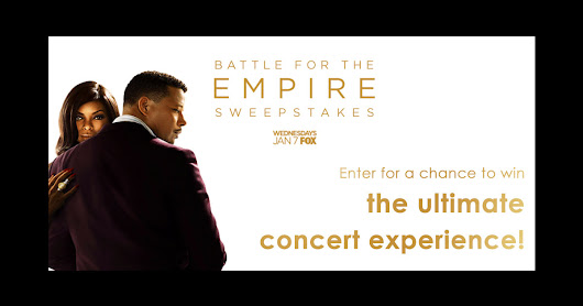 Enter @EMPIREFOX & Live Nation®'s sweeps for a chance to win the ultimate concert experience!