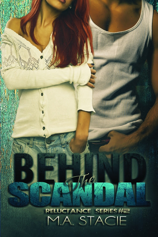 Cover Reveal - Behind the Scandal by M.A. Stacie