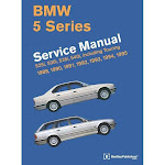 BMW 5 Series Service Manual - by Bentley Publishers (Hardcover)