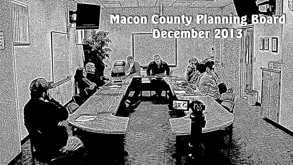Macon County Planning Board december 2013