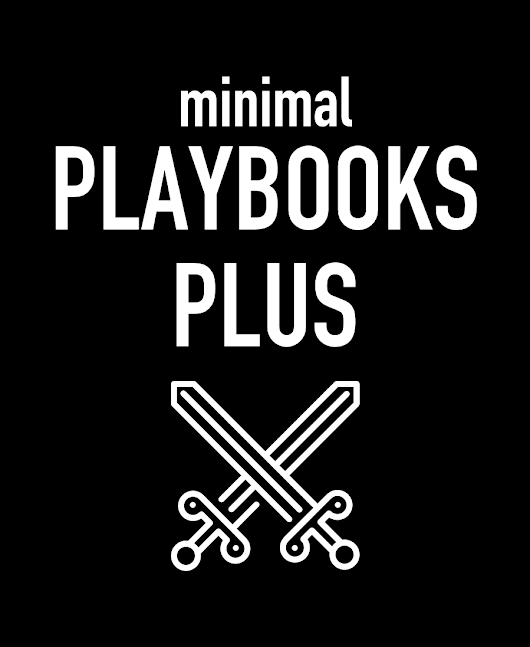 Minimal Playbooks Plus - Dungeon World