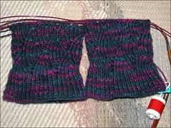 Pomatomus socks, as of 10/28/12
