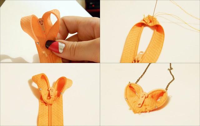 juliana leite tutorial rapido cordao de zipper como fazer